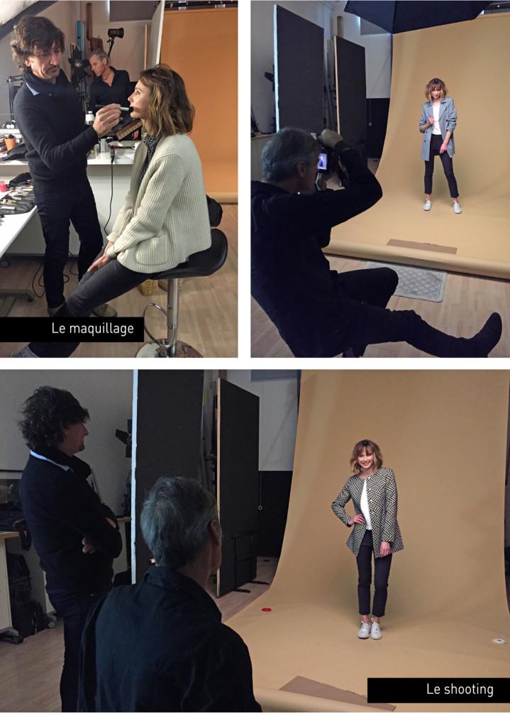 Shooting de nos manteaux d'été, trenchs et vestes à Paris avec Hedvig