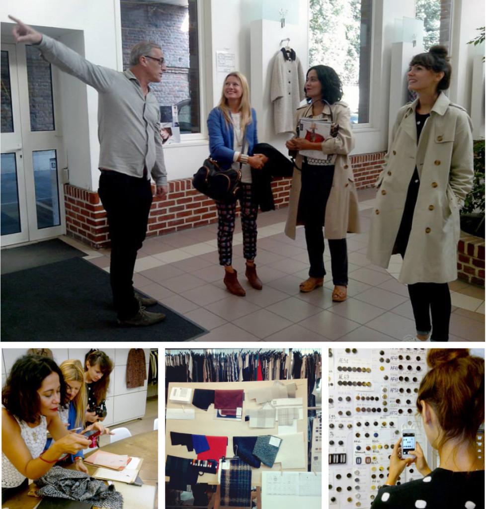Les blogueuses visitent notre atelier français