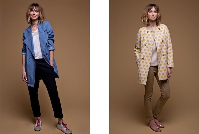 Le manteau d'été se décline dans tous les styles