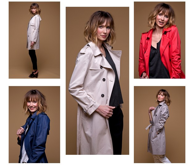 Le trench femme