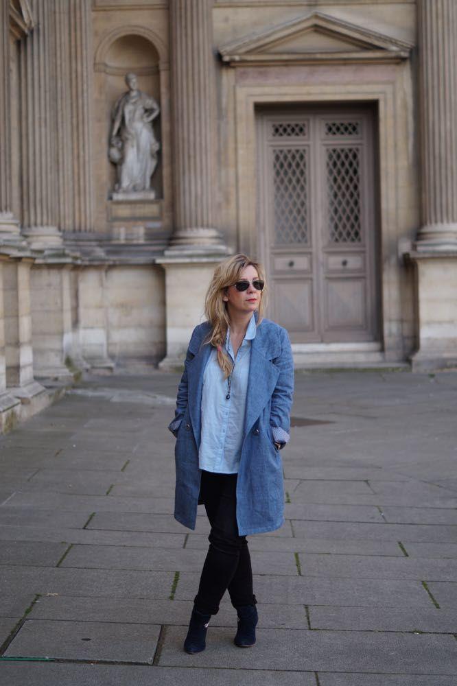 Idée de look manteau d'été
