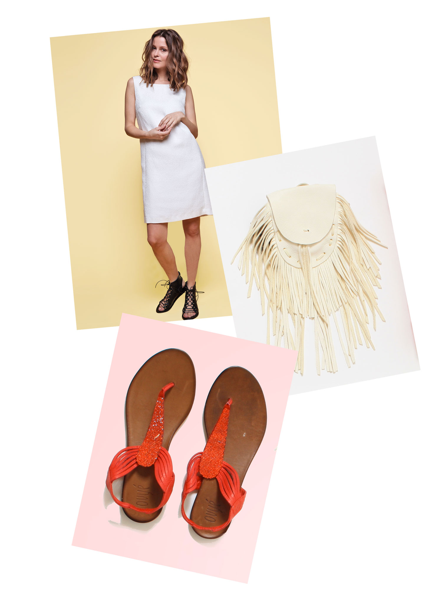 robe sandales été