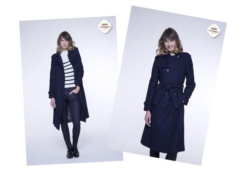 manteau français