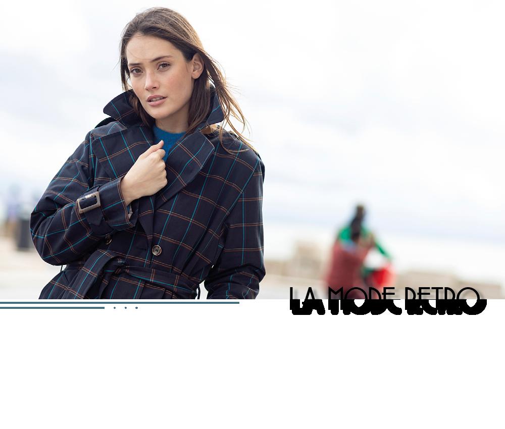 Manteau rétro mode